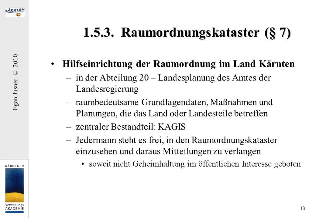 1.5.3. Raumordnungskataster (§ 7)