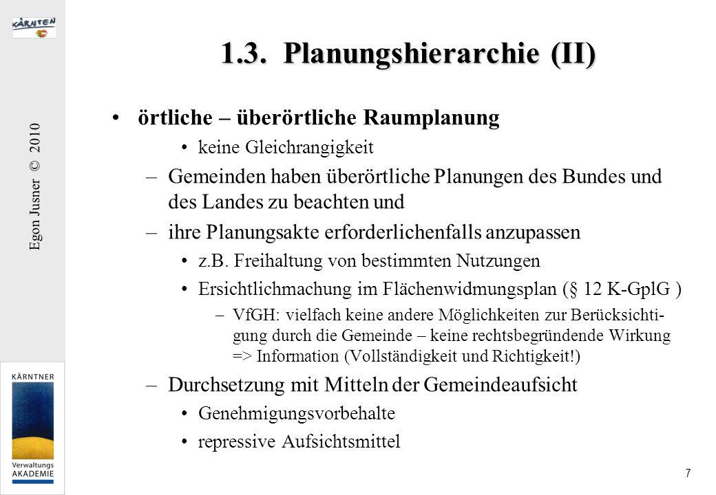 1.3. Planungshierarchie (II)