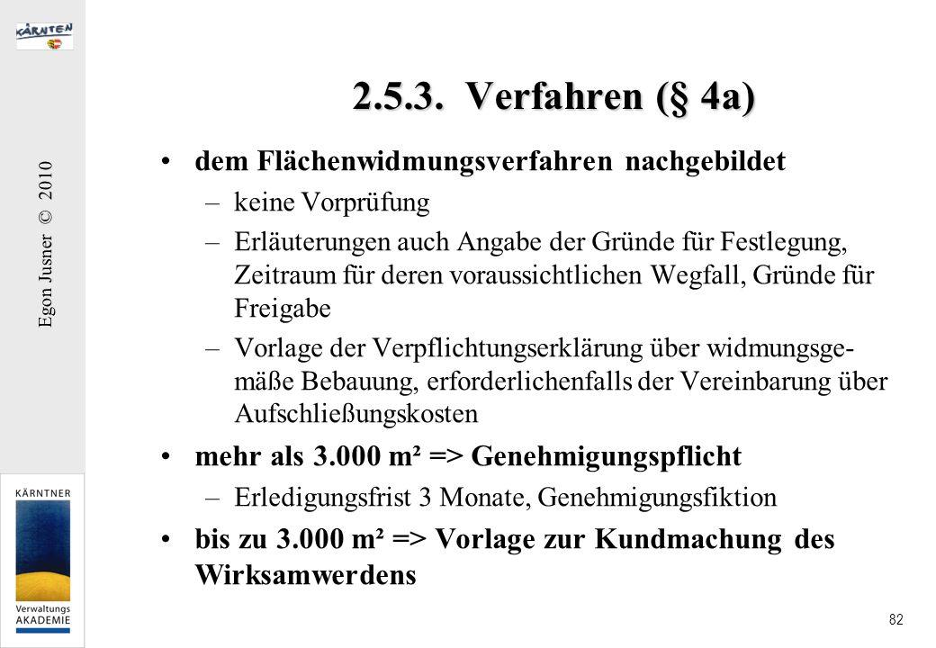 2.5.3. Verfahren (§ 4a) dem Flächenwidmungsverfahren nachgebildet