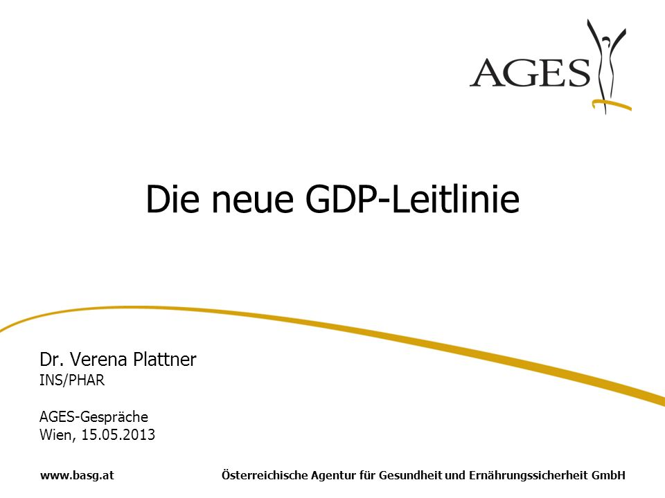 Die neue GDP-Leitlinie