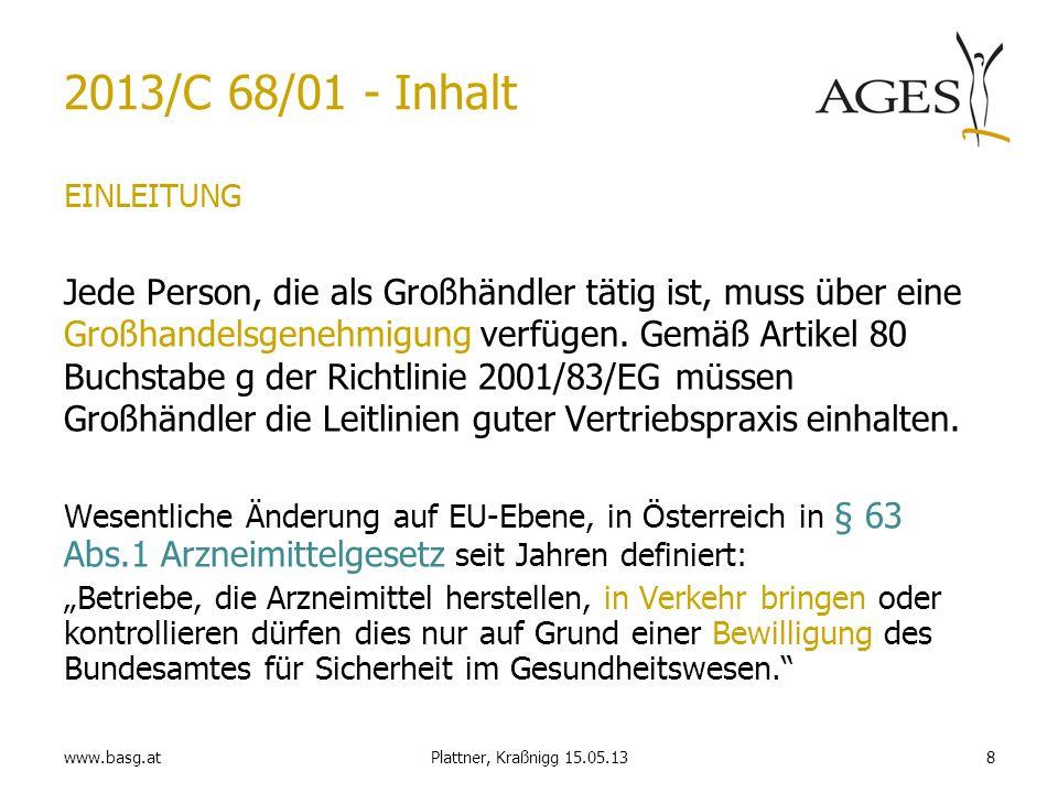 2013/C 68/01 - Inhalt EINLEITUNG.
