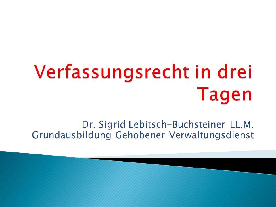 Dr. Sigrid Lebitsch-Buchsteiner LL.M.