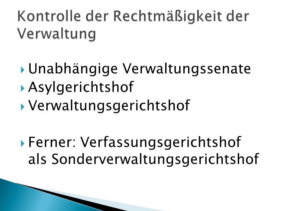 Unabhängige Verwaltungssenate