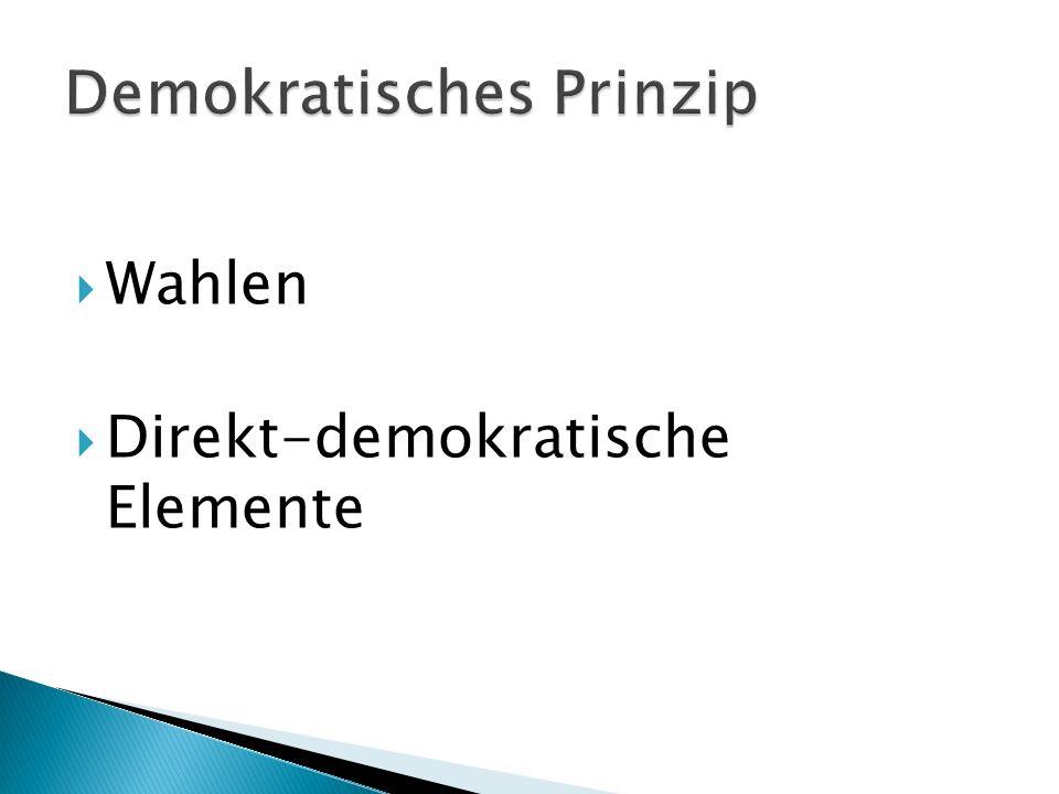 Demokratisches Prinzip