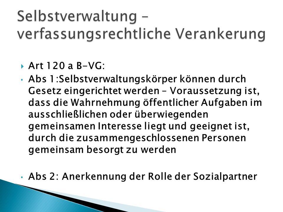 Art 120 a B-VG: