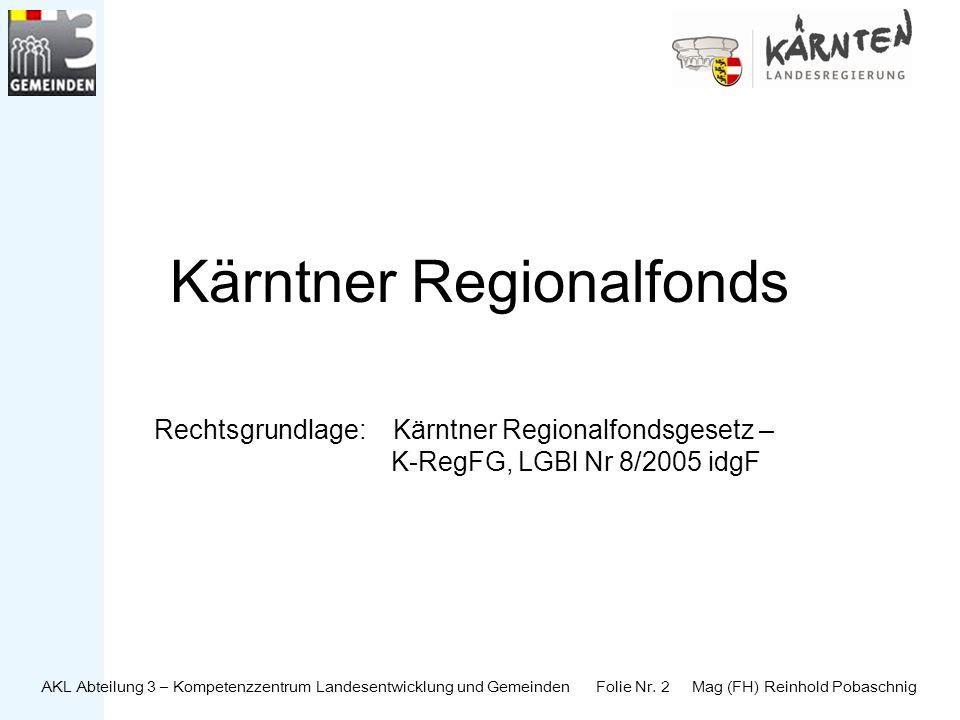 Kärntner Regionalfonds
