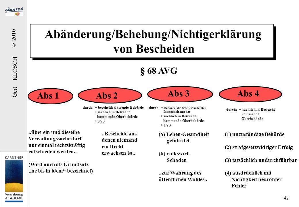Verfahrenskosten Kosten der Beteiligten Kosten der Behörde