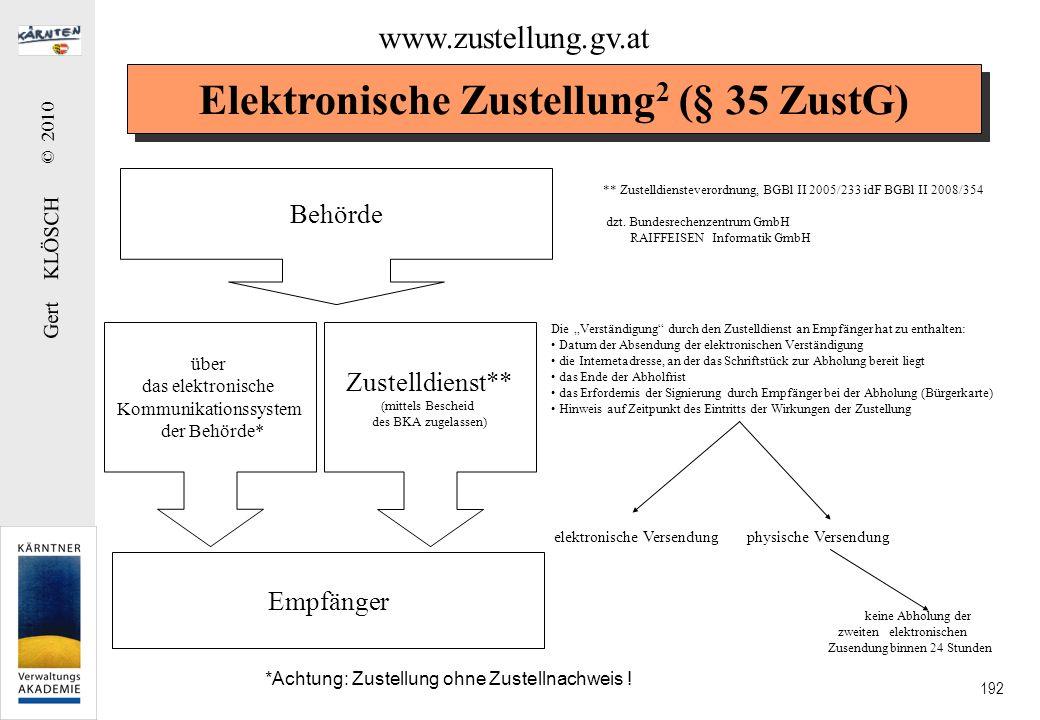 Elektronische Zustellung3