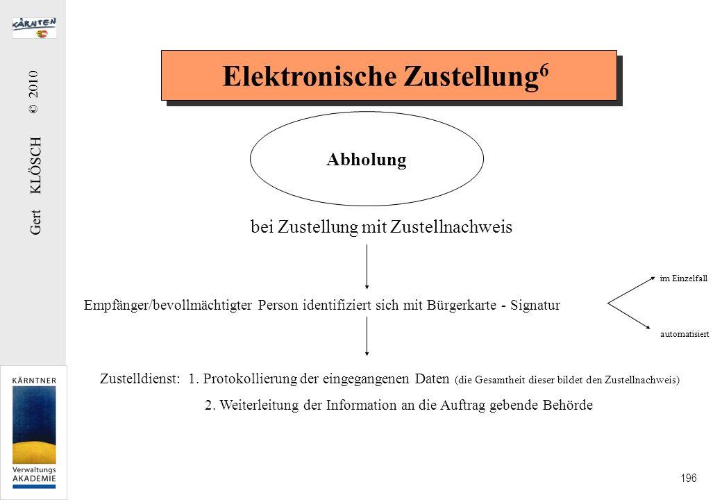 Elektronische Zustellung7