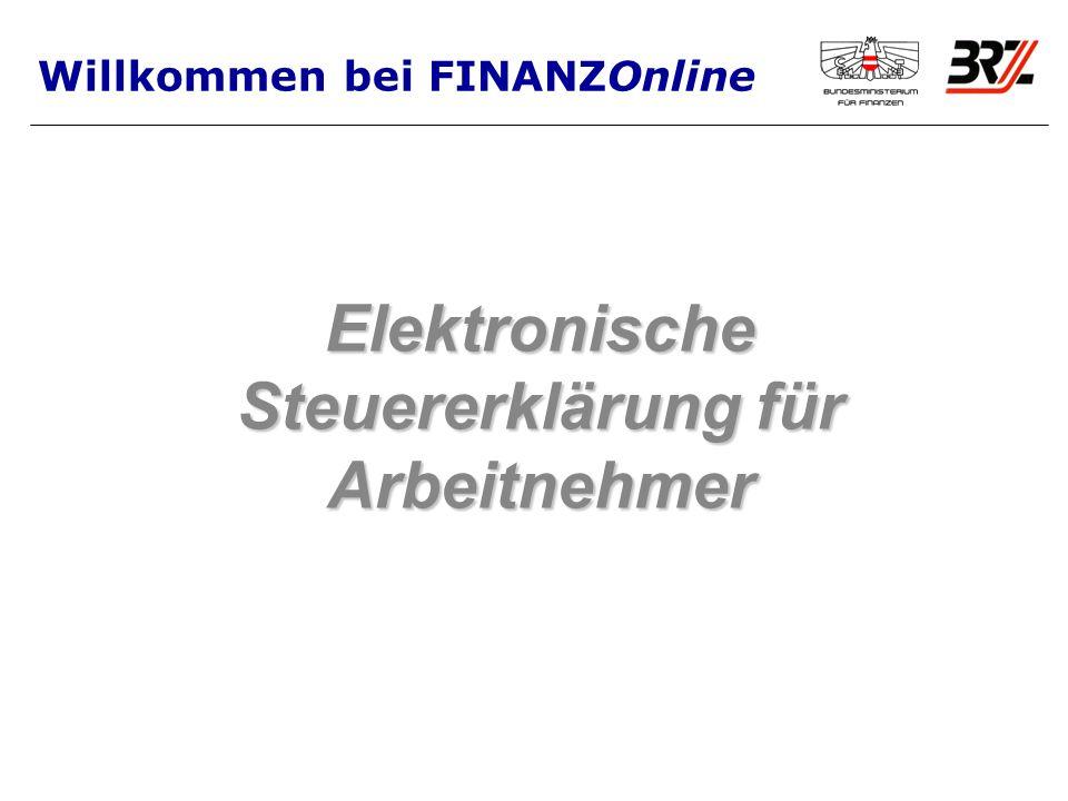 Elektronische Steuererklärung für Arbeitnehmer