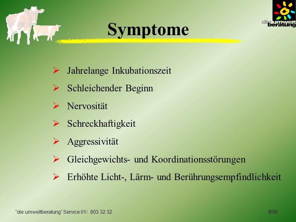 Symptome Jahrelange Inkubationszeit Schleichender Beginn Nervosität