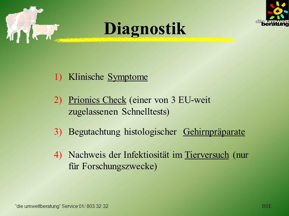 Diagnostik Klinische Symptome