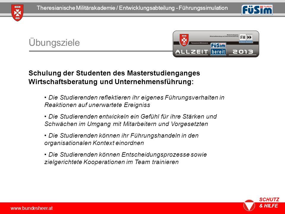 Theresianische Militärakademie / Entwicklungsabteilung - Führungssimulation
