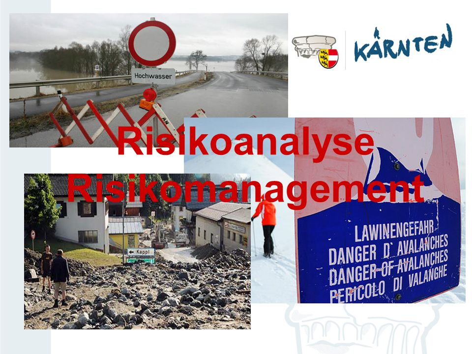 Risikoanalyse Risikomanagement
