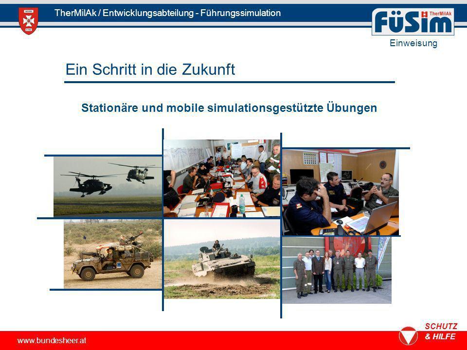 Stationäre und mobile simulationsgestützte Übungen
