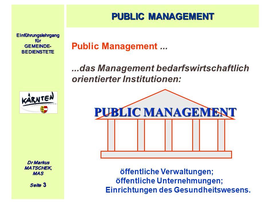 PUBLIC MANAGEMENT PUBLIC MANAGEMENT Public Management ...