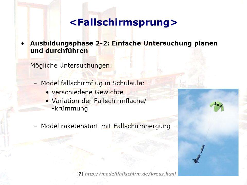 <Fallschirmsprung>