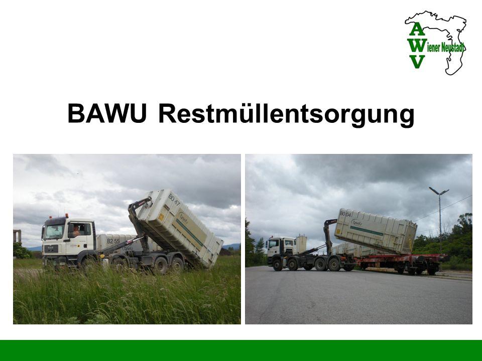 BAWU Restmüllentsorgung