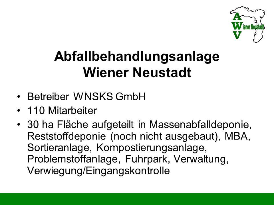 Abfallbehandlungsanlage Wiener Neustadt