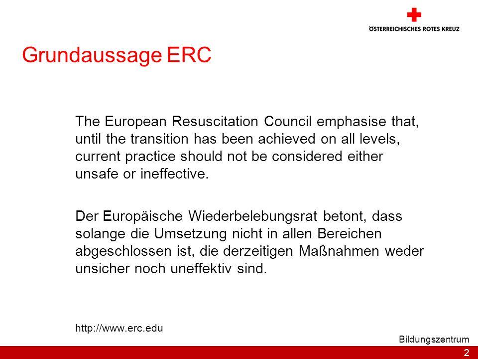Grundaussage ERC
