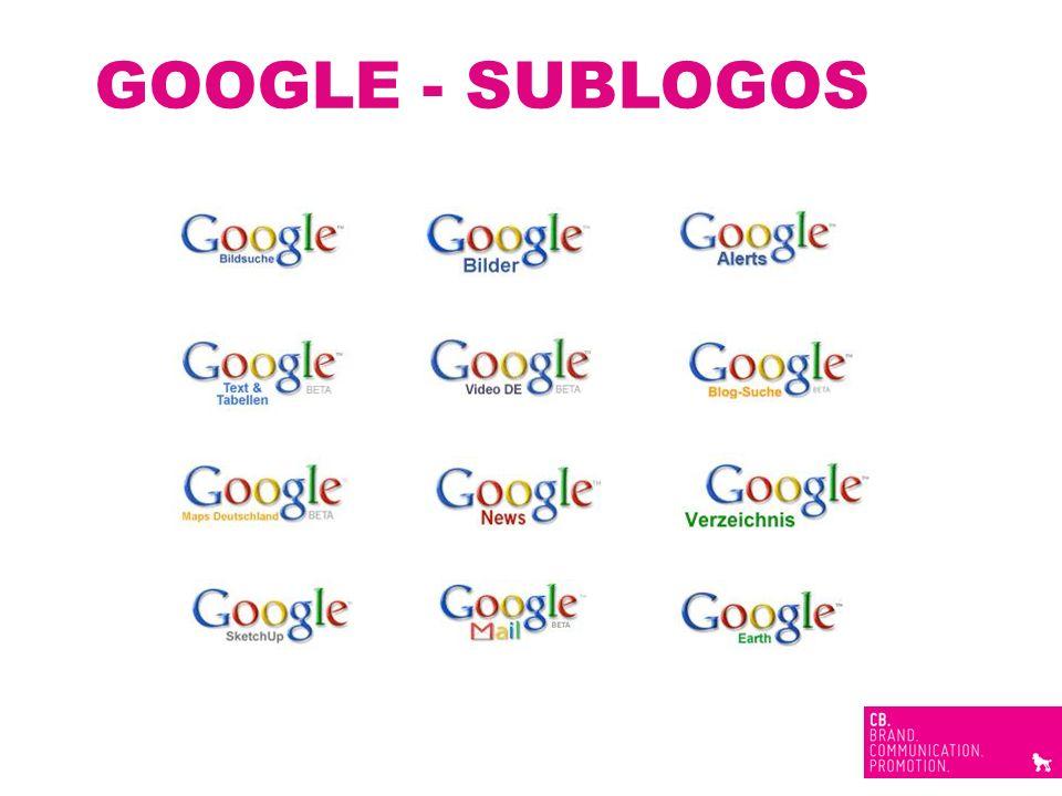 GOOGLE - SUBLOGOS