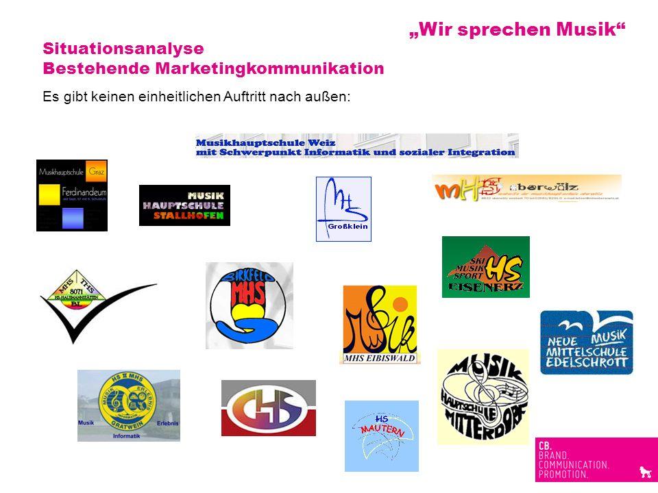 """""""Wir sprechen Musik Situationsanalyse"""