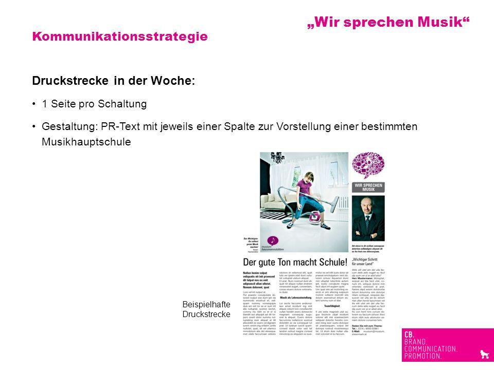 """""""Wir sprechen Musik Kommunikationsstrategie"""