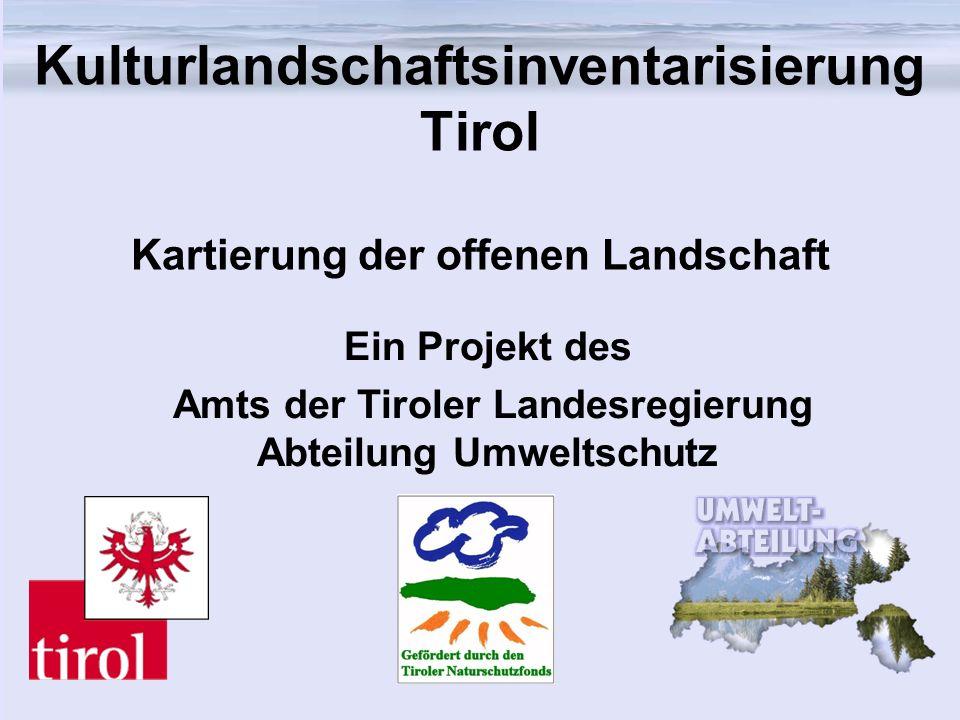Amts der Tiroler Landesregierung Abteilung Umweltschutz