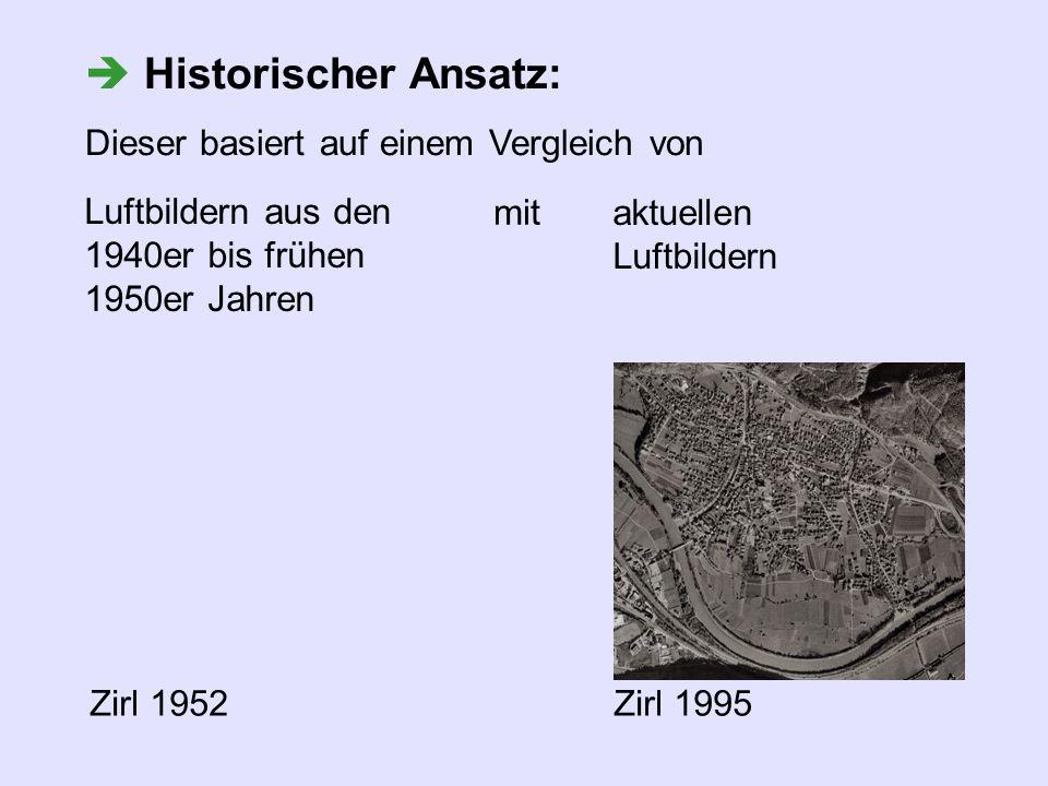  Historischer Ansatz: