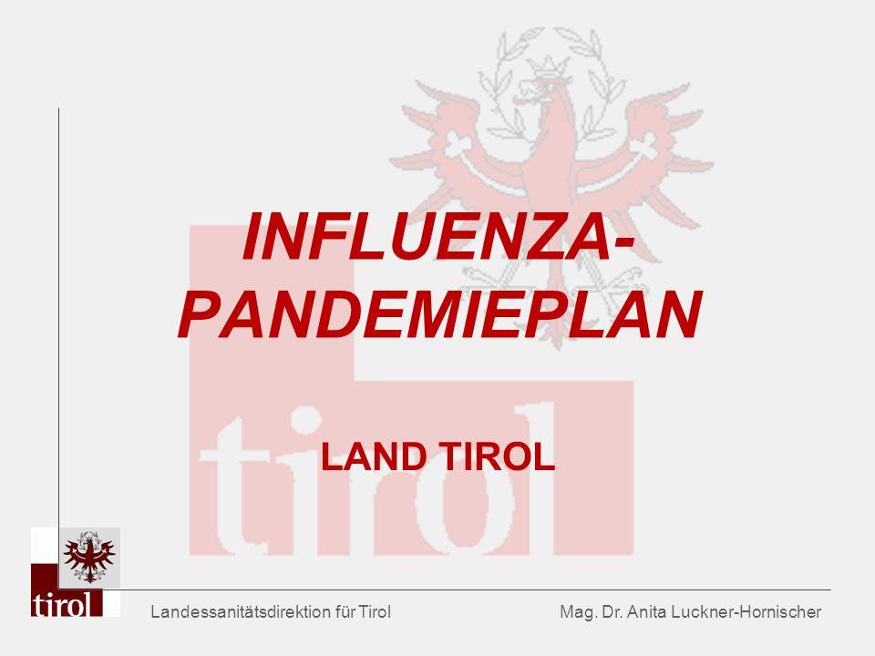 INFLUENZA-PANDEMIEPLAN