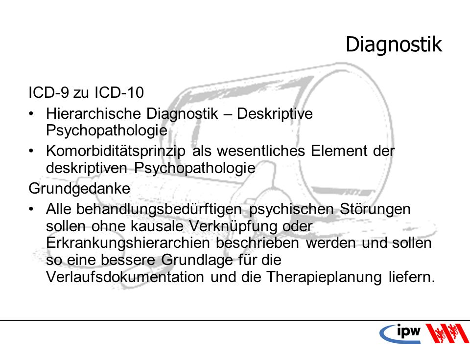 Diagnostik ICD-9 zu ICD-10