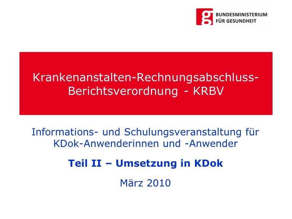 Krankenanstalten-Rechnungsabschluss-Berichtsverordnung - KRBV