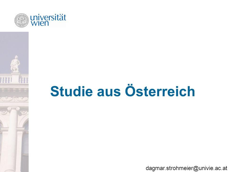 Studie aus Österreich