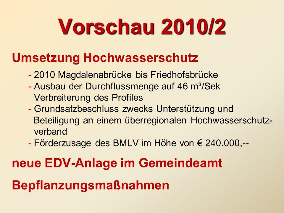 Vorschau 2010/2
