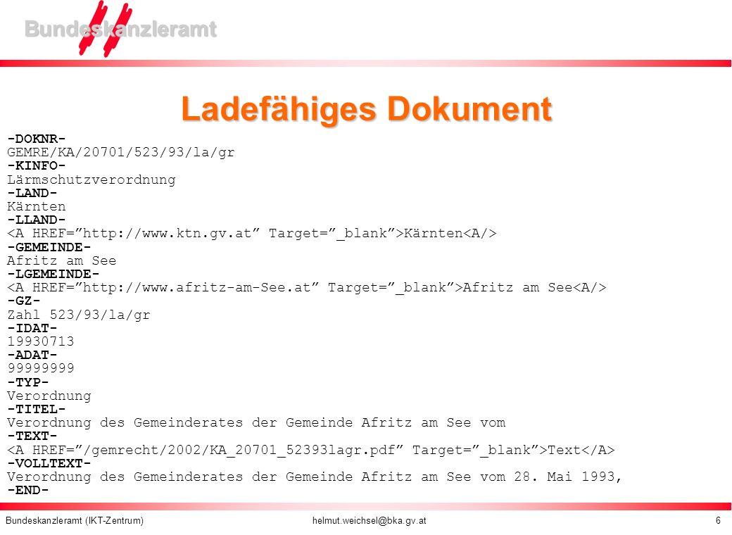 Ladefähiges Dokument -DOKNR- GEMRE/KA/20701/523/93/la/gr -KINFO-