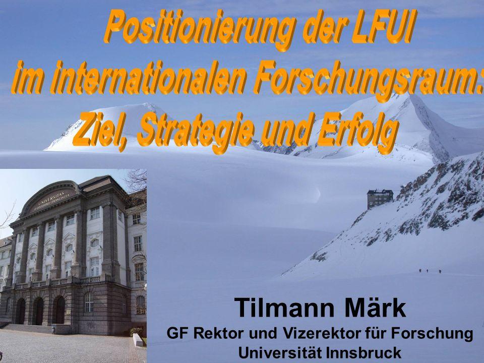 Tilmann Märk Positionierung der LFUI