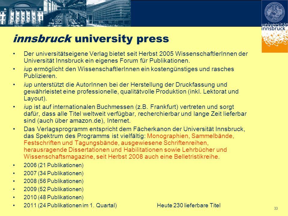innsbruck university press