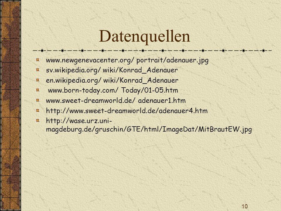 Datenquellen www.newgenevacenter.org/ portrait/adenauer.jpg
