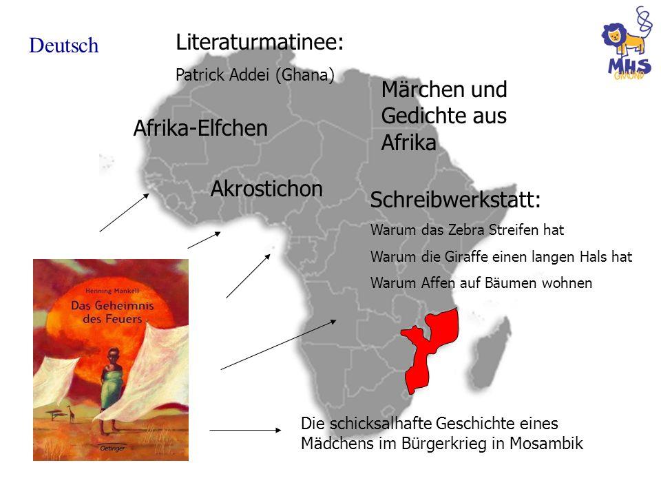 Märchen und Gedichte aus Afrika