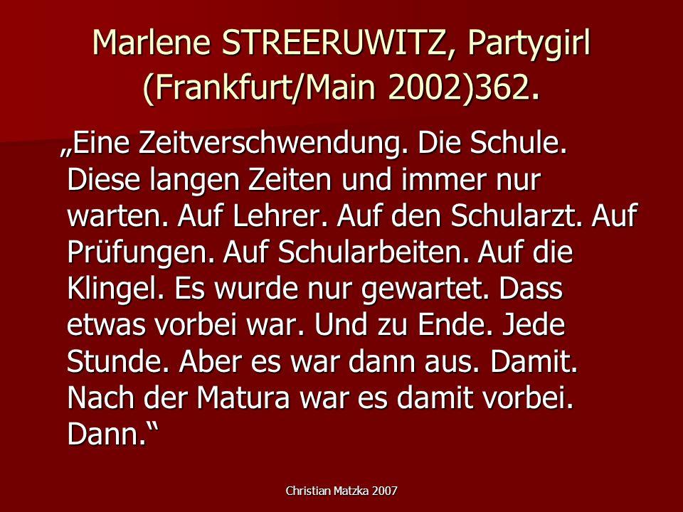 Marlene STREERUWITZ, Partygirl (Frankfurt/Main 2002)362.