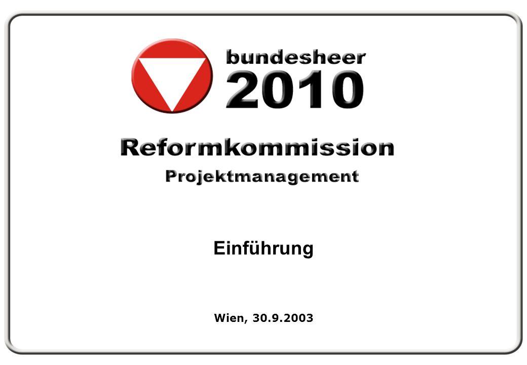 Einführung Wien, 30.9.2003