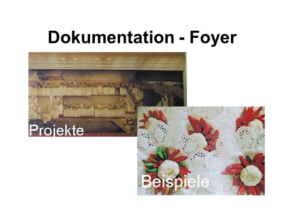 Dokumentation - Foyer