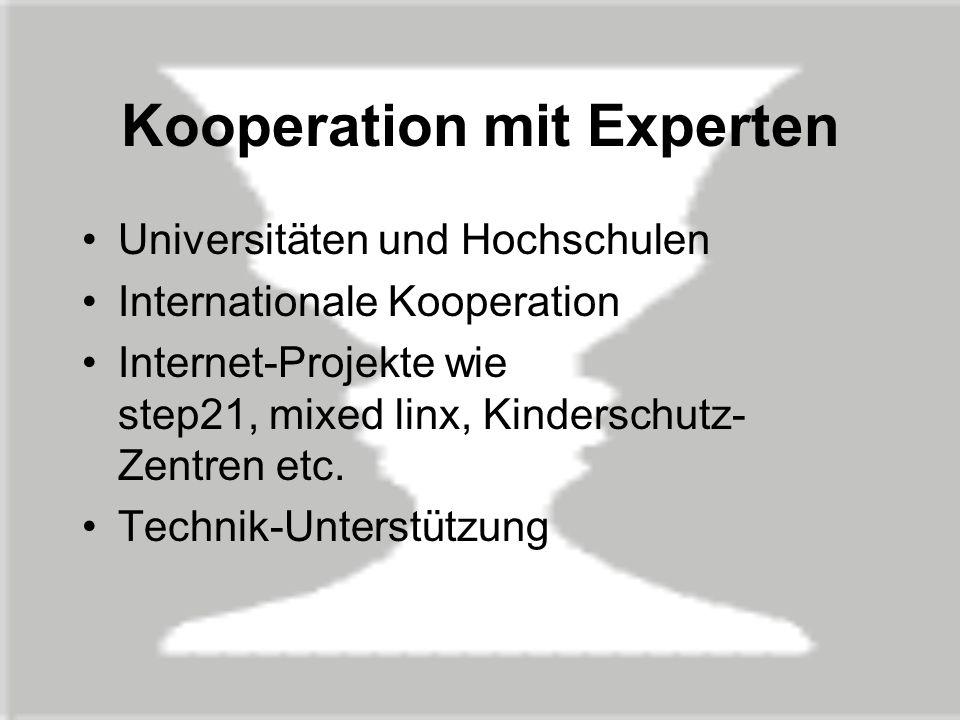 Kooperation mit Experten