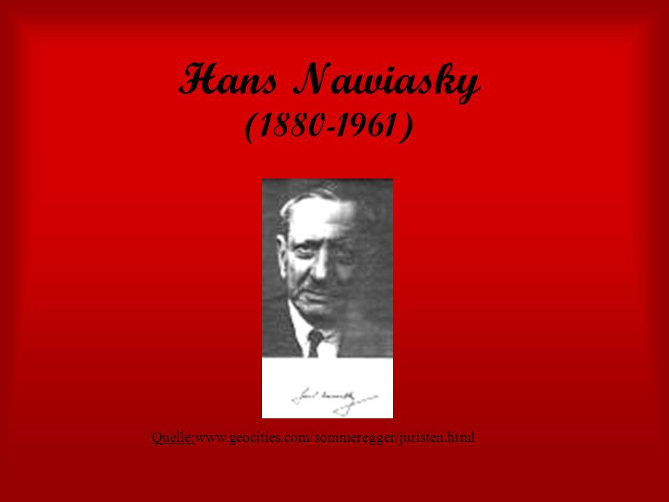 Hans Nawiasky (1880-1961) Quelle:www.geocities.com/sommeregger/juristen.html