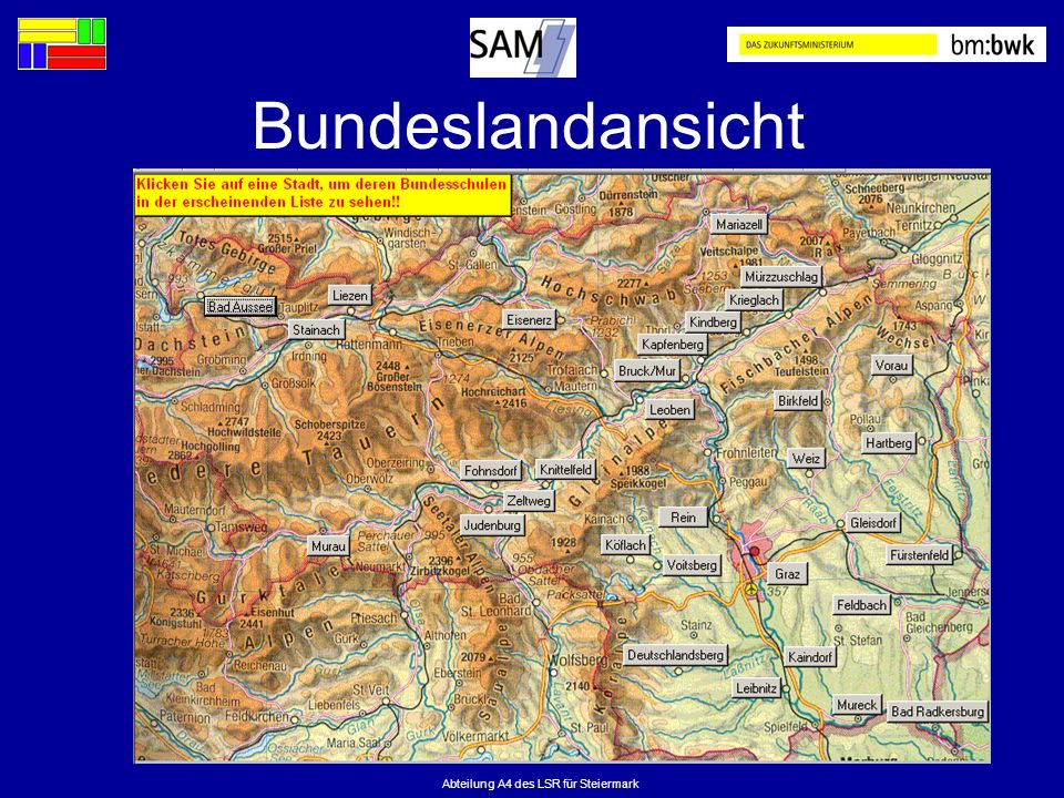 Abteilung A4 des LSR für Steiermark