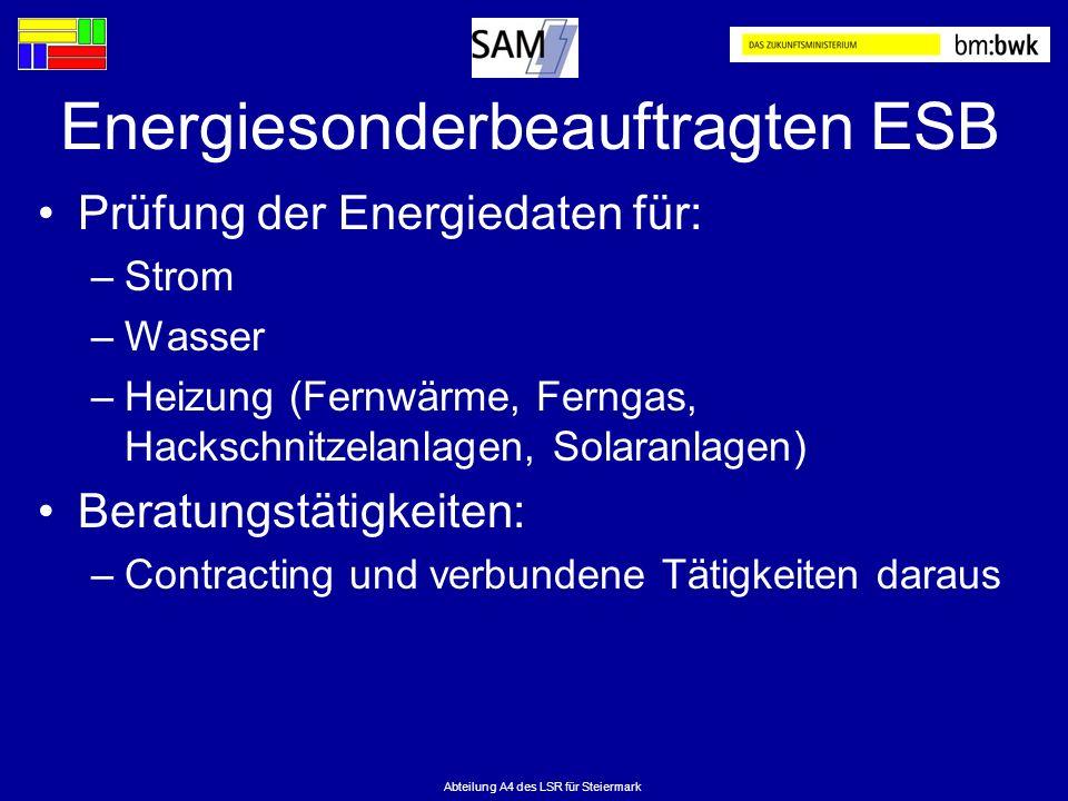 Energiesonderbeauftragten ESB