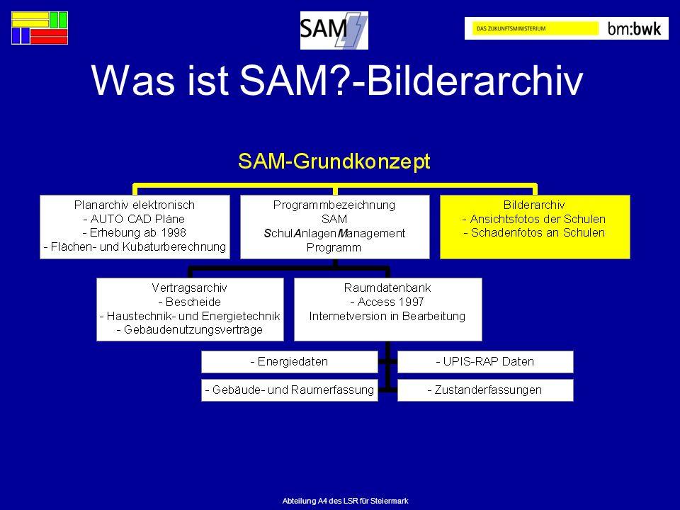 Was ist SAM -Bilderarchiv