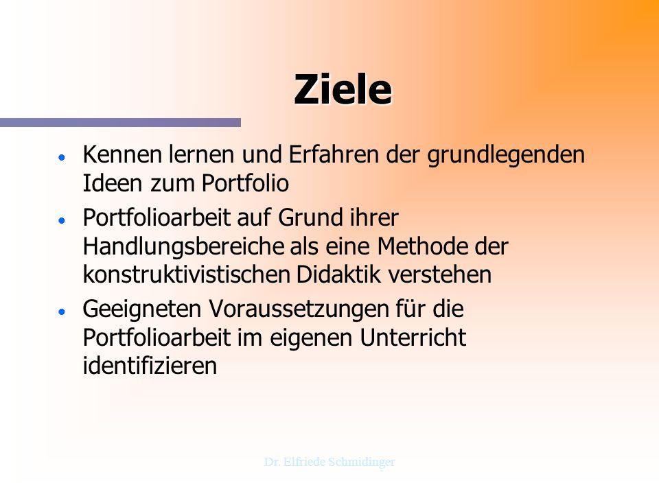 Dr. Elfriede Schmidinger