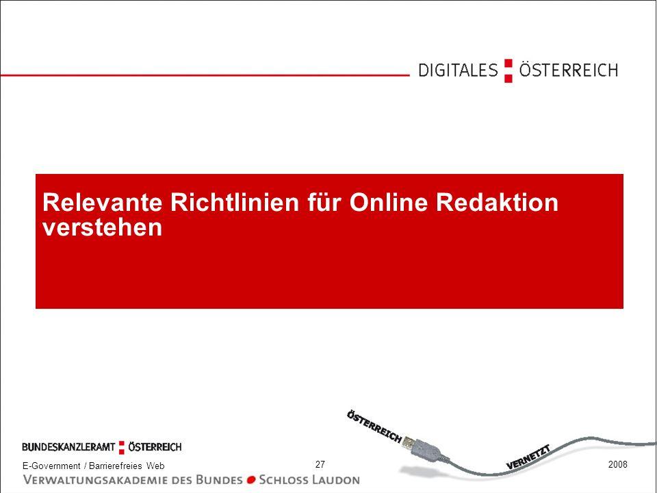 Relevante Richtlinien für Online Redaktion verstehen