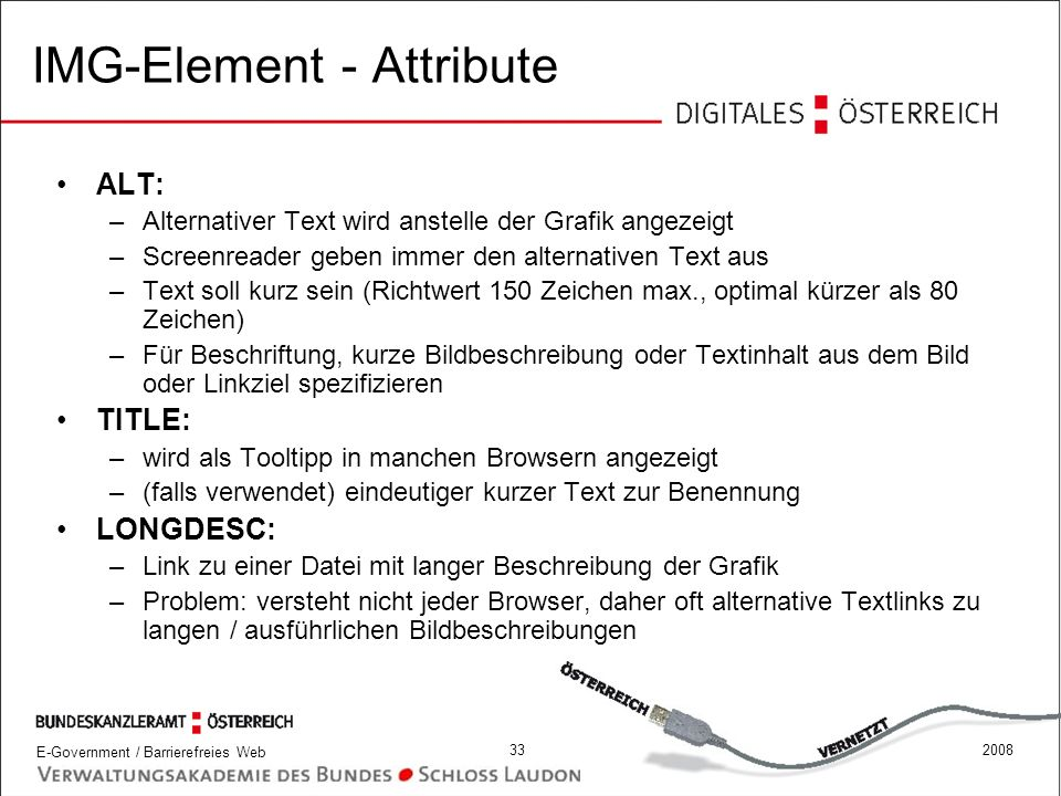 IMG-Element - Attribute